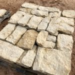 Madison Real Stone Veneer Stock Pallet