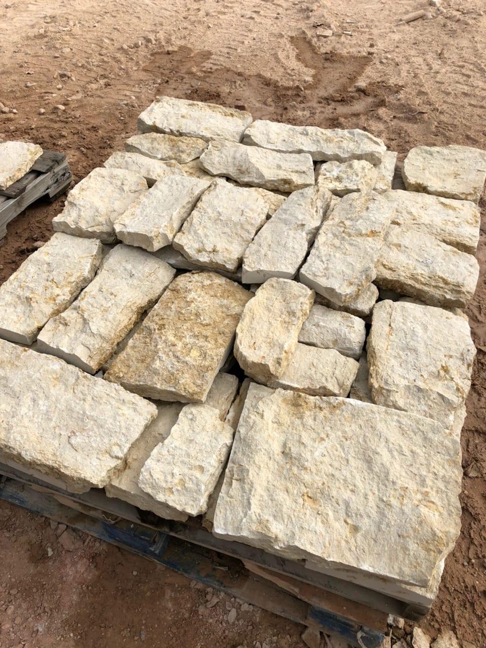 Madison Real Stone Veneer Stock Pallet