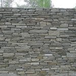 Camberly Natural Stone Veneer Privacy Wall