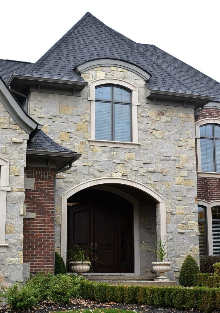 Charcoal Bluff Real Stone Veneer Exterior