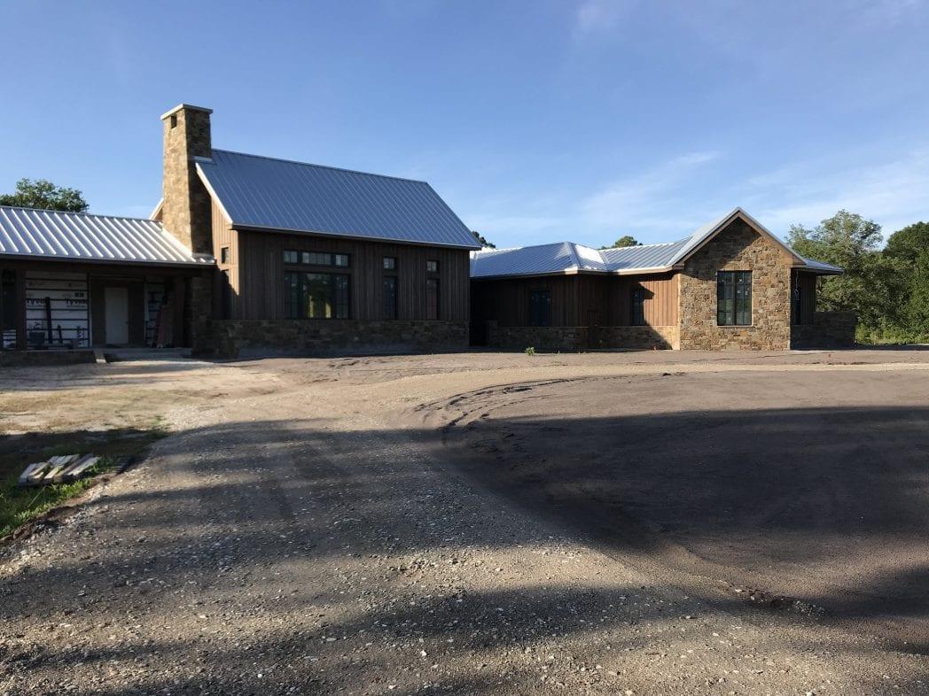 Cortez Natural Thin Stone Veneer Residential Exterior