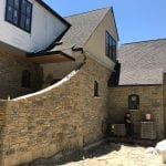 Custom Aberdeen Natural Thin Stone Veneer Tumbled Finish