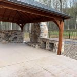 London Real Thin Stone Veneer Outdoor Living