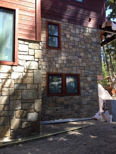 Palmetto Real Thin Stone Veneer Castle Rock Exterior