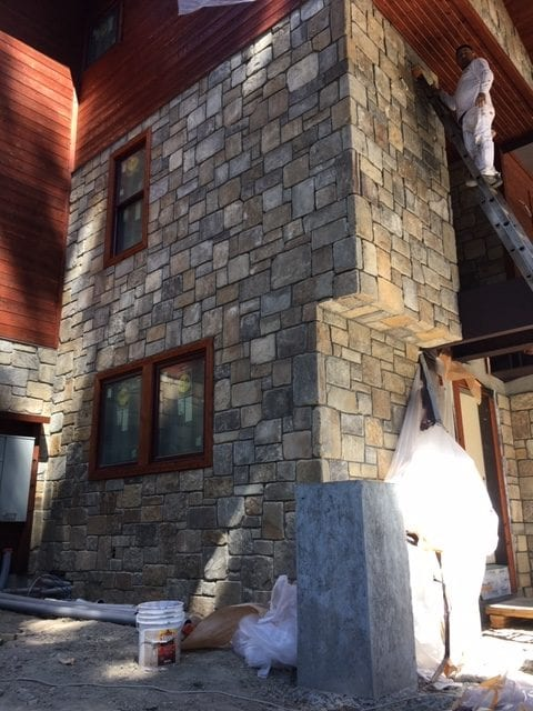 Palmetto Real Thin Stone Veneer Exterior Masonry
