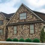 Pioneer Real Thin Stone Veneer Home Exterior Black Mortar