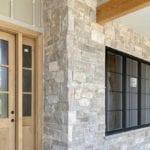 Custom Ashlar Style Natural Stone Veneer Exterior Siding