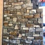 Custom Ashlar Style Real Stone Veneer Installation
