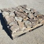 Moss Rock Natural Thin Stone Veneer Stock Pallet