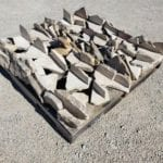Moss Rock Natural Thin Stone Veneer Stock Pallet Corners