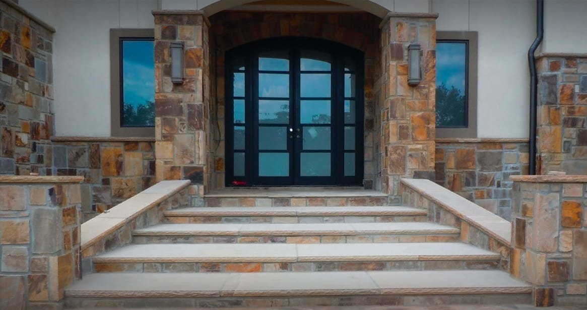 Timber Creek Castle Rock Exterior Real Stone Veneer