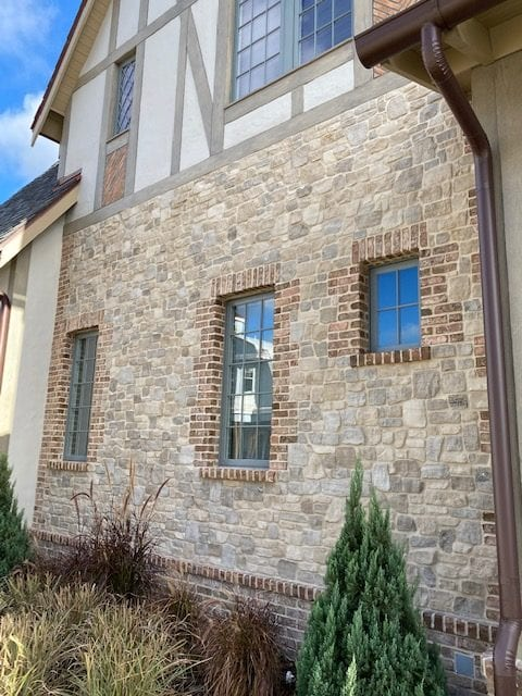 Tuscan Antique Real Stone Veneer Accent Wall