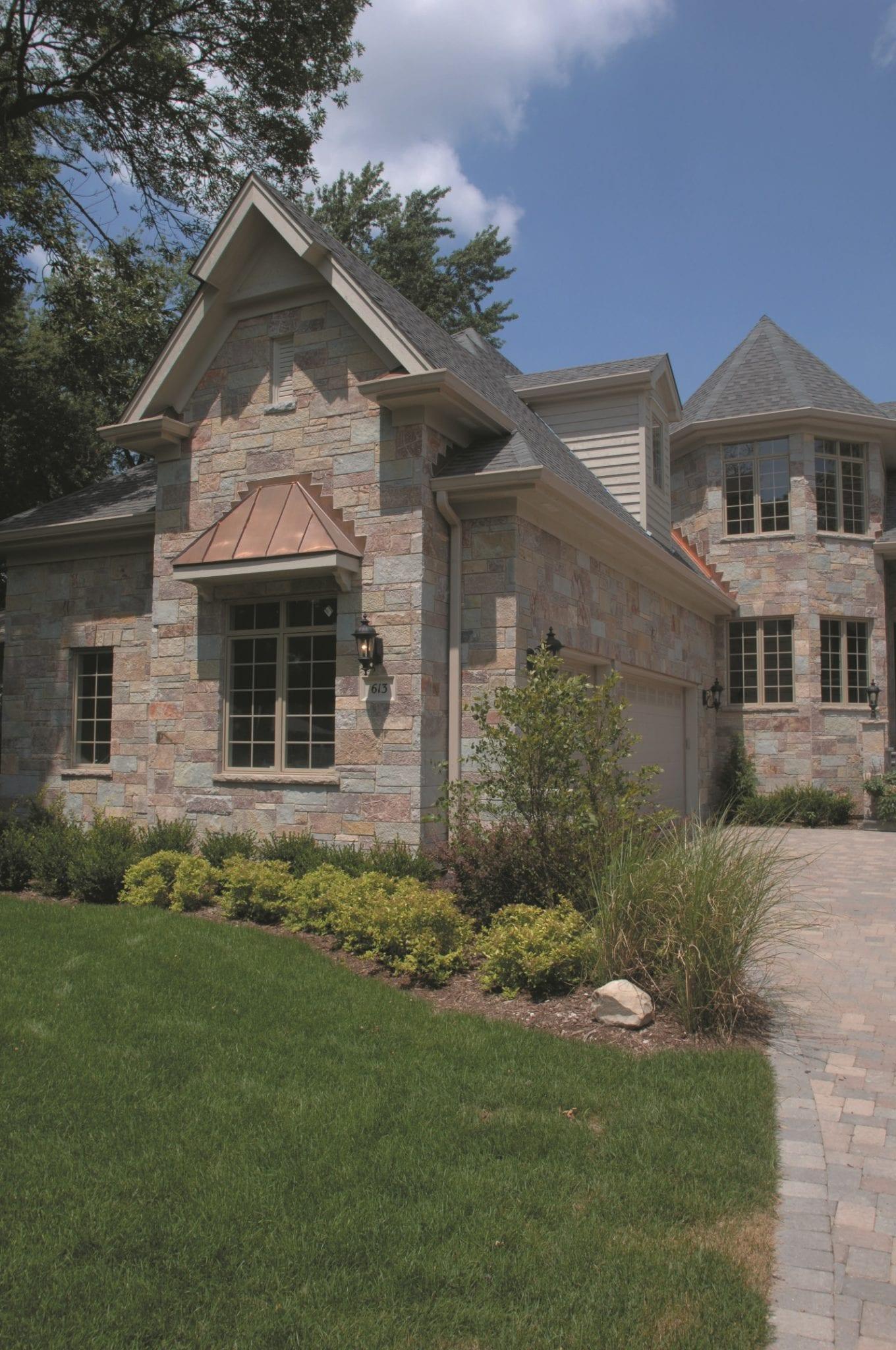 Ambrose Colorful Limestone Thin Veneer Architecture