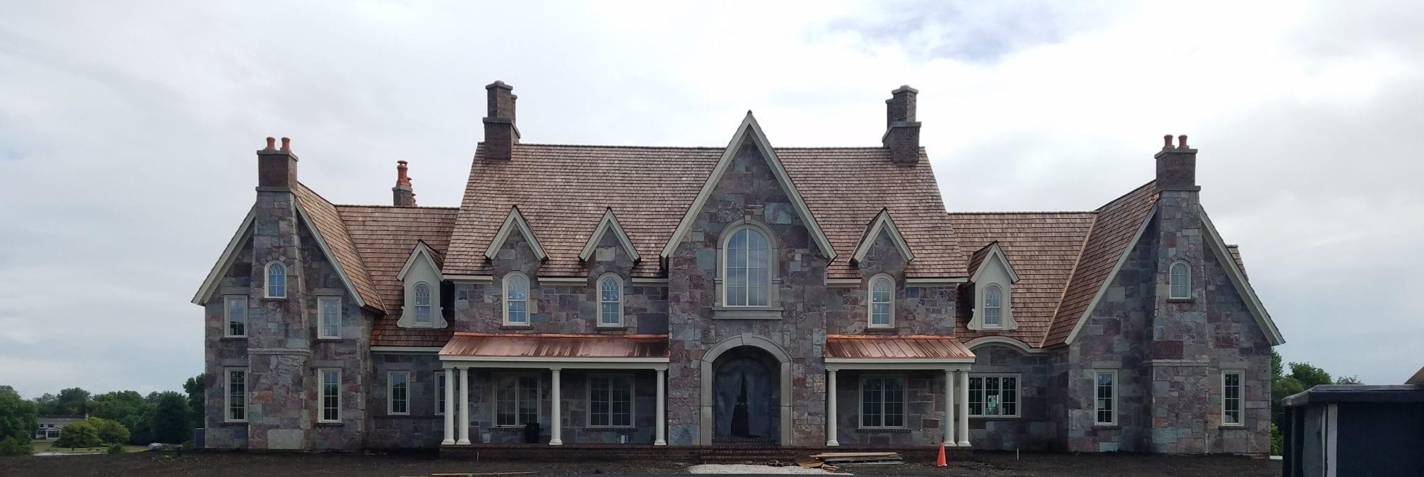 Ambrose Real Thin Stone Veneer Home Exterior