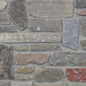 Brookhaven Real Thin Stone Veneer Mock-Up