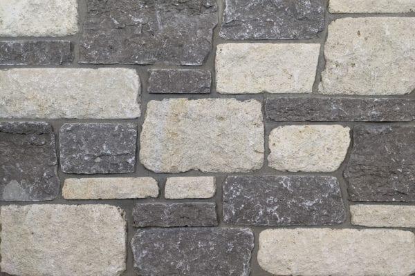 Caldera Tumbled Real Stone Veneer Mock-Up