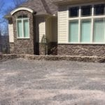 Cape Cod Low Height Ledgestone Real Thin Veneer Wainscoting