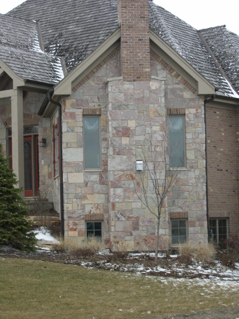 Chilton Colorful Natural Thin Stone Veneer Exterior