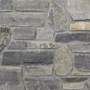 Cottage Grove Natural Thin Stone Veneer Mock-Up
