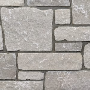 Edison Tumbled Thin Stone Veneer Mock-Up