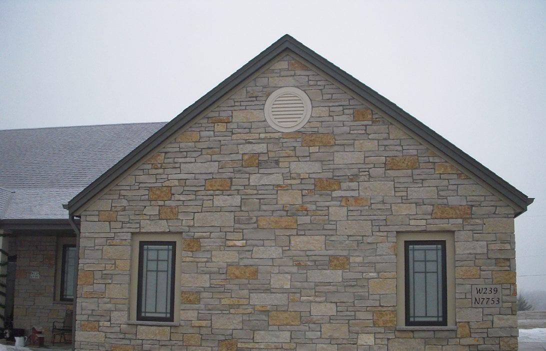 Evanston Limestone Thin Veneer Exterior