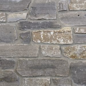 Glendale Natural Stone Veneer Mock-Up