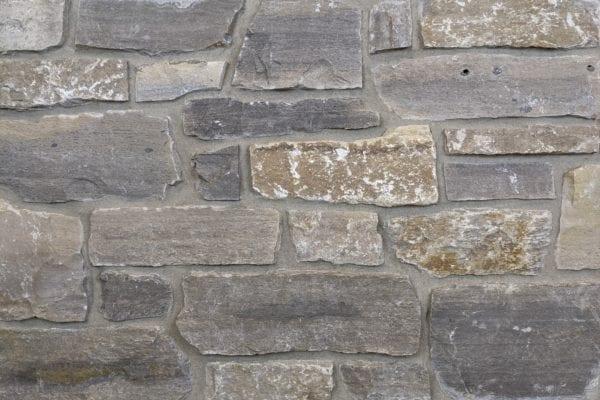 Glendale Natural Stone Veneer Mock-Up