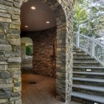 Glendale Real Thin Stone Veneer Turret Close-Up