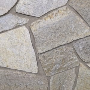 Irvine Mosaic Thin Stone Veneer Mock-Up