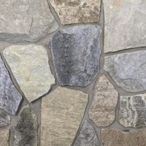 Lille Mosaic Real Stone Veneer Mock-Up