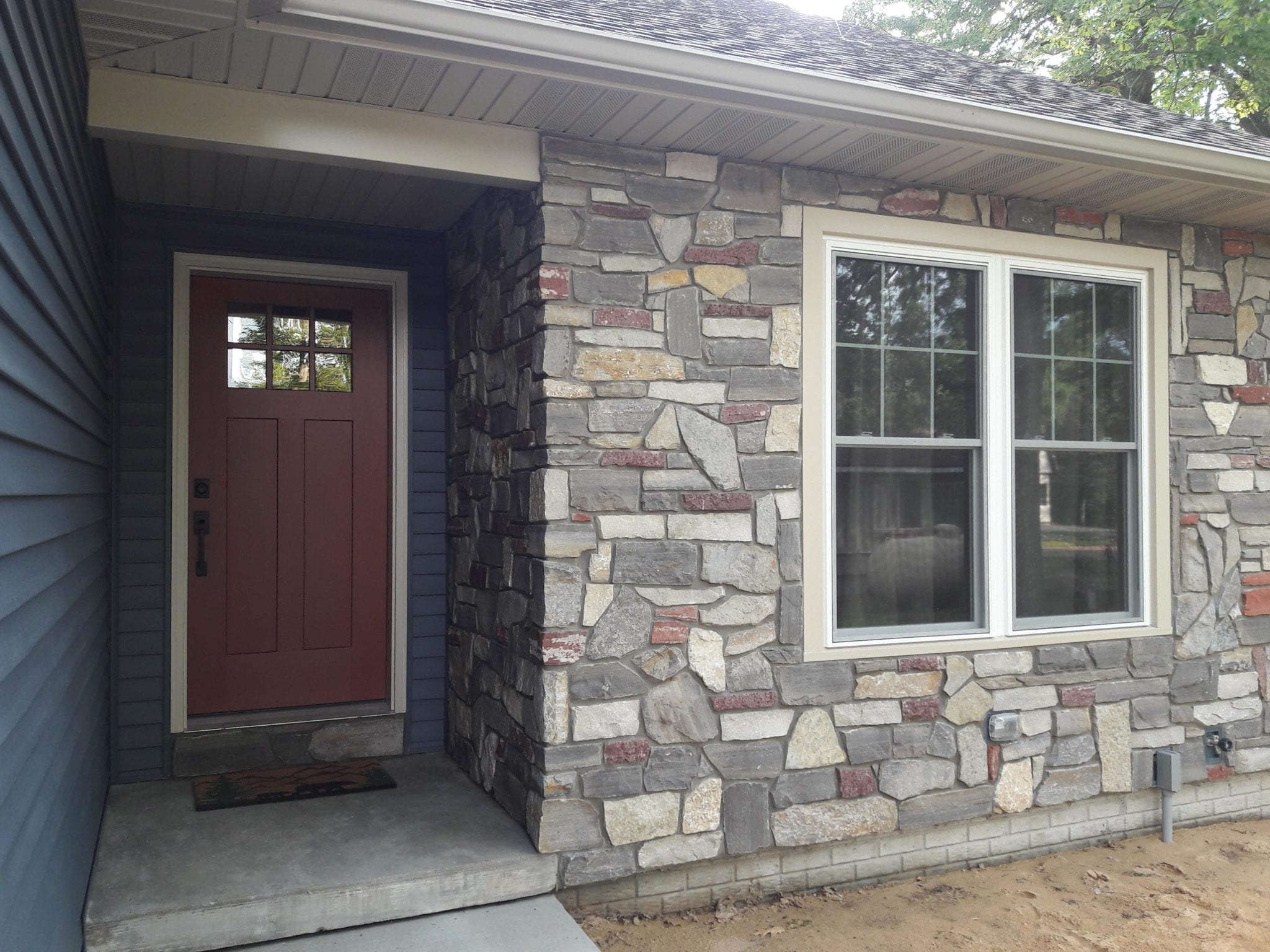 Monterey Colorful Real Stone Veneer Exterior