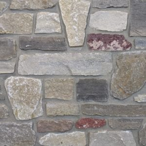 Monterey Real Thin Stone Veneer Mock-Up