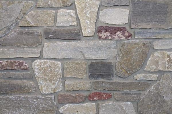 Monterey Real Thin Stone Veneer Mock-Up