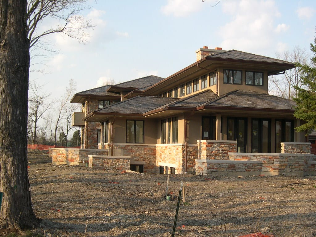 Pennington Real Thin Stone Veneer Home Exterior