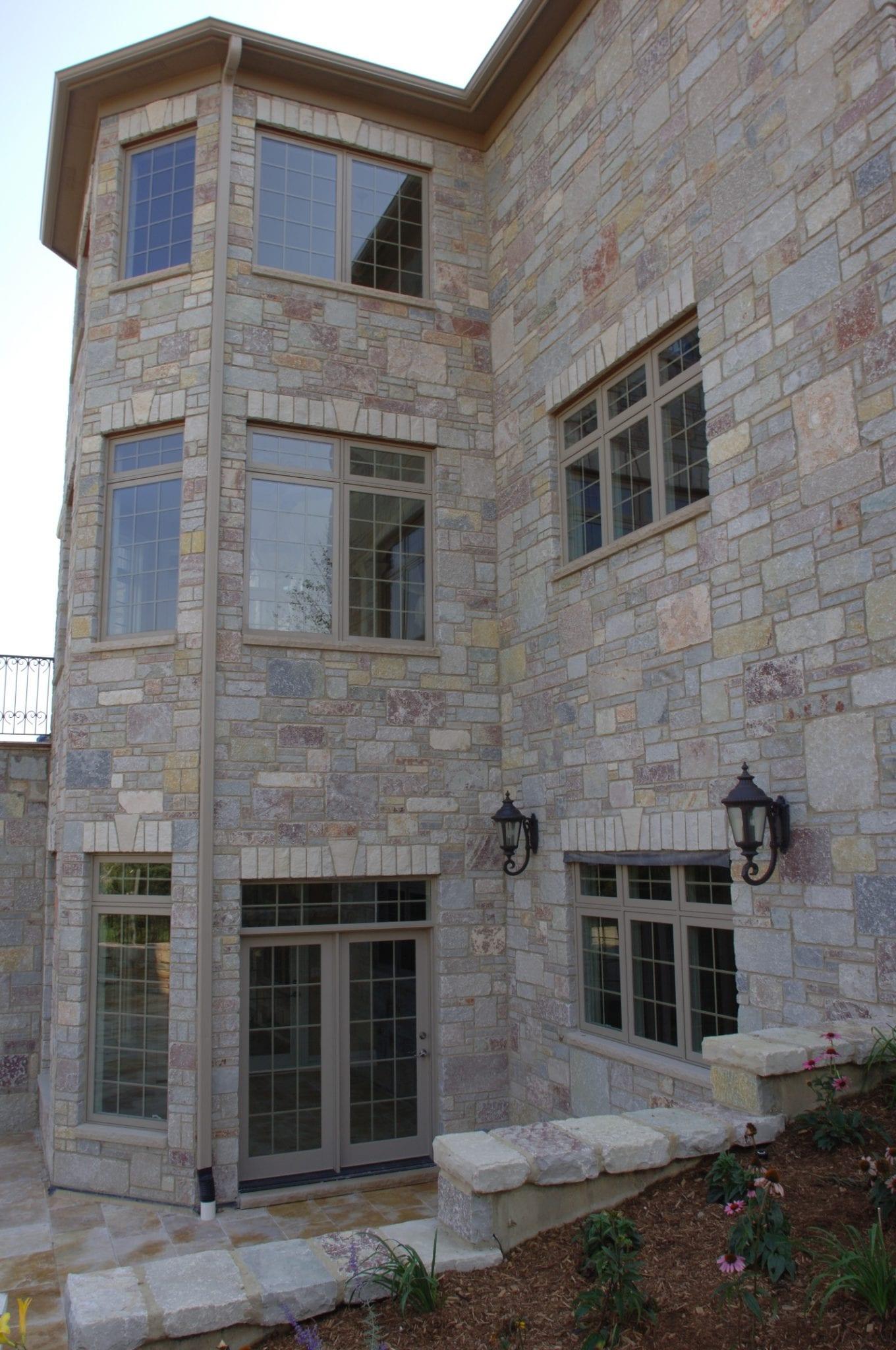 Ravenna Dimensional Real Thin Stone Veneer Exterior