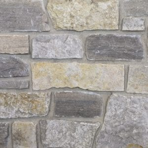 Stillwater Natural Stone Veneer Mock-Up