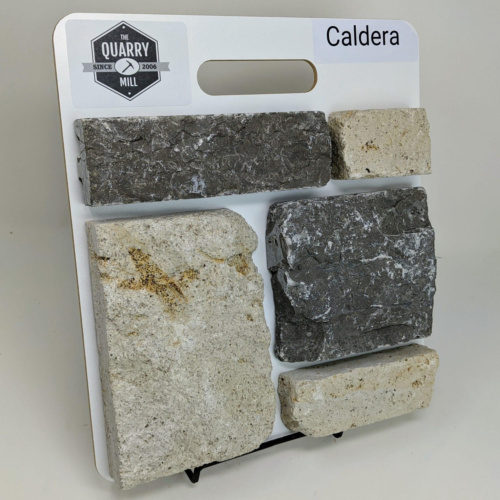 Caldera Natural Stone Veneer Sample Board