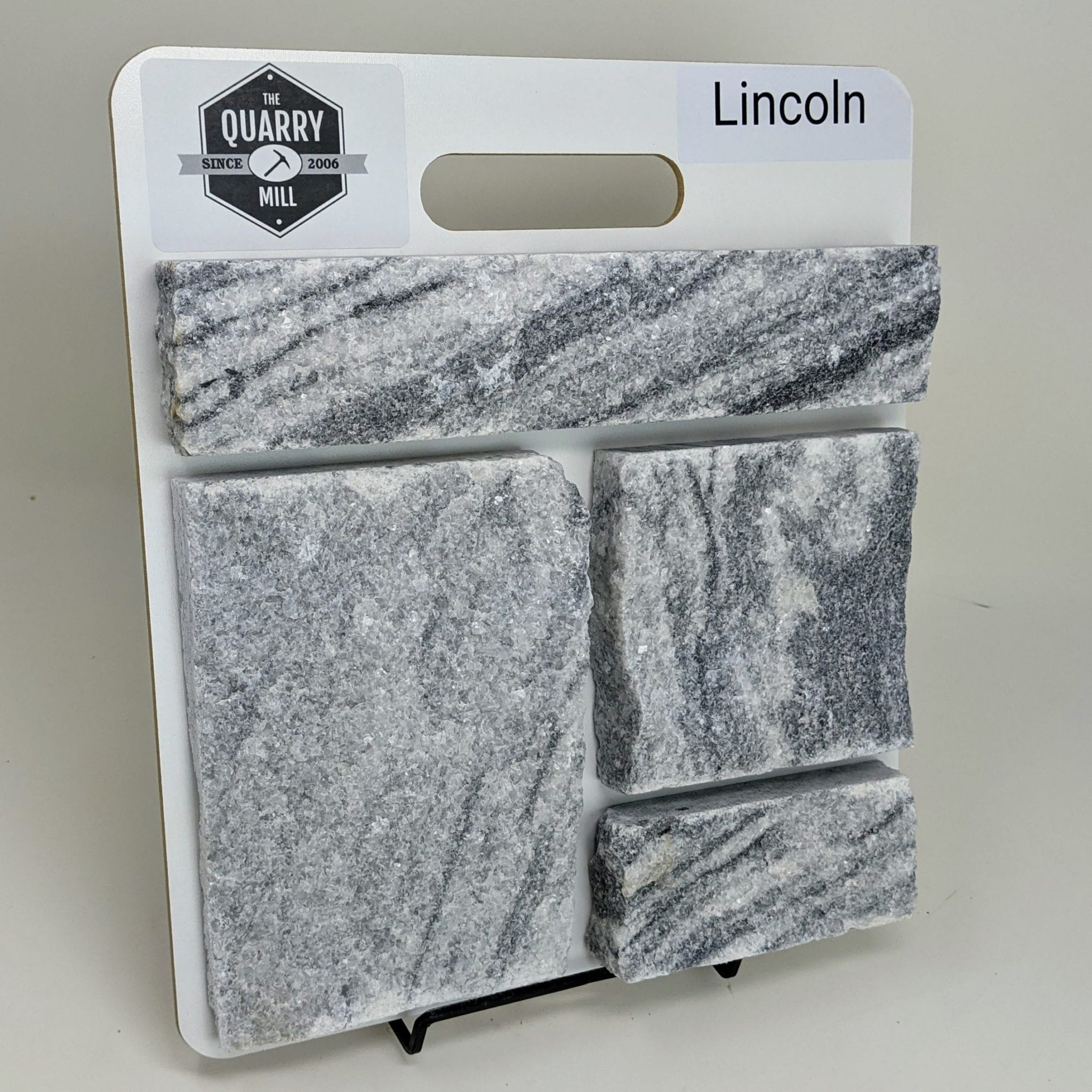 Lincoln Thin Stone Veneer Sample Board