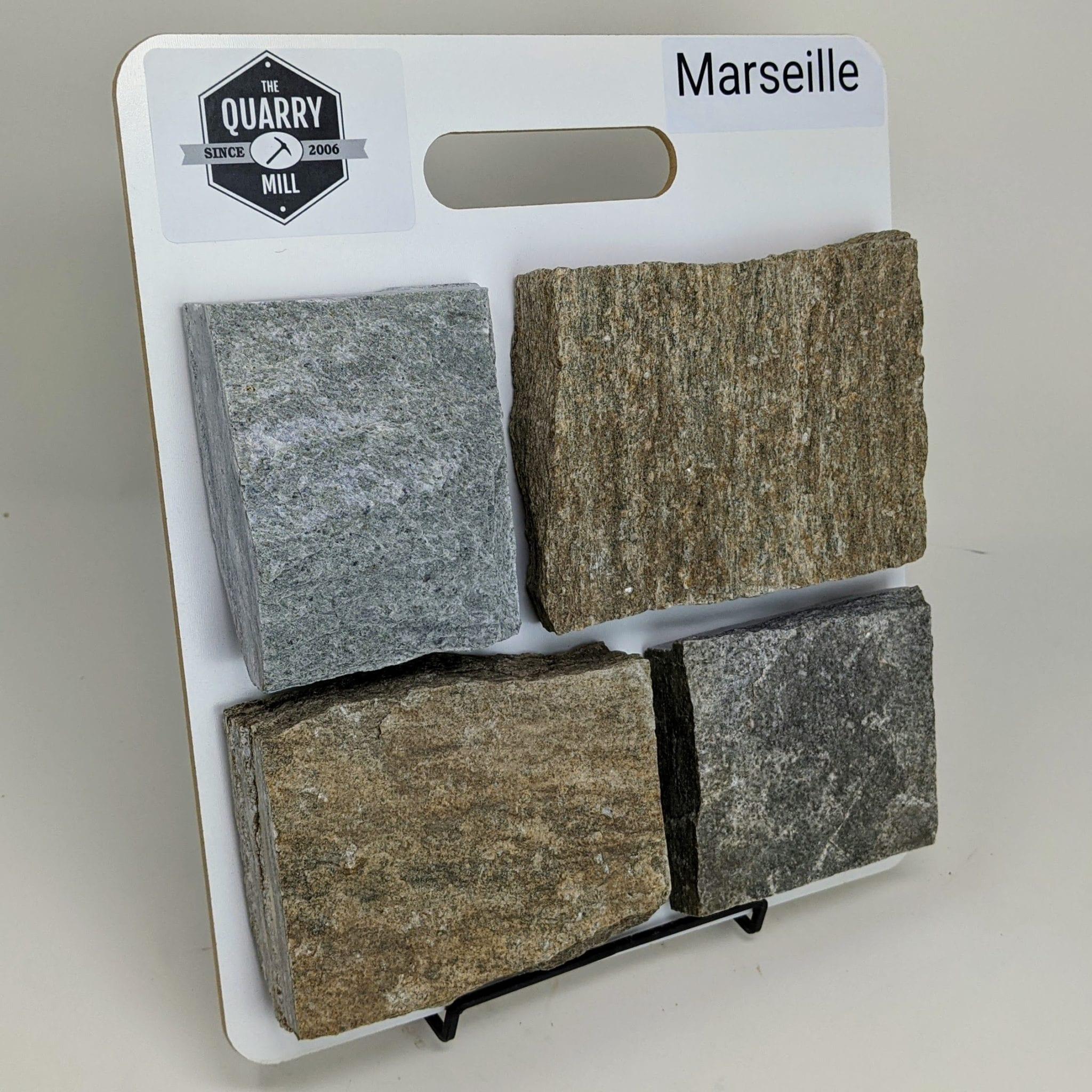 Marseille Natural Stone Veneer Sample Board