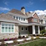 Olympia Real Thin Stone Veneer Home Exterior