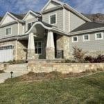 Racine Natural Thin Stone Veneer Home Exterior