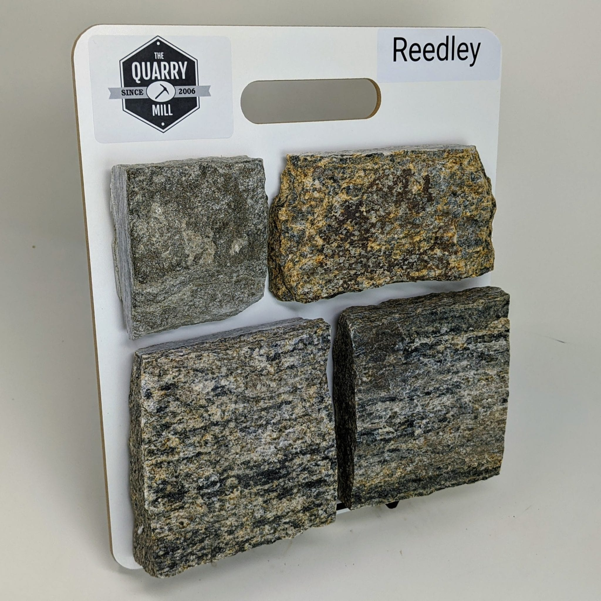 Reedley Natural Stone Veneer Sample Board