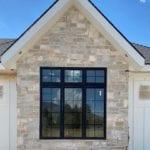 Roanoke Real Thin Stone Veneer Accent Wall