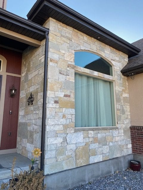 Sherman Real Thin Stone Veneer Accent Wall