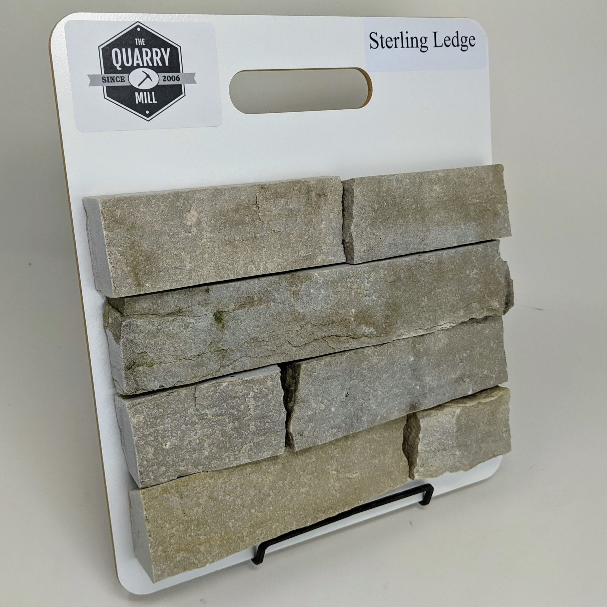 Sterling Ledge Thin Stone Veneer Sample Board