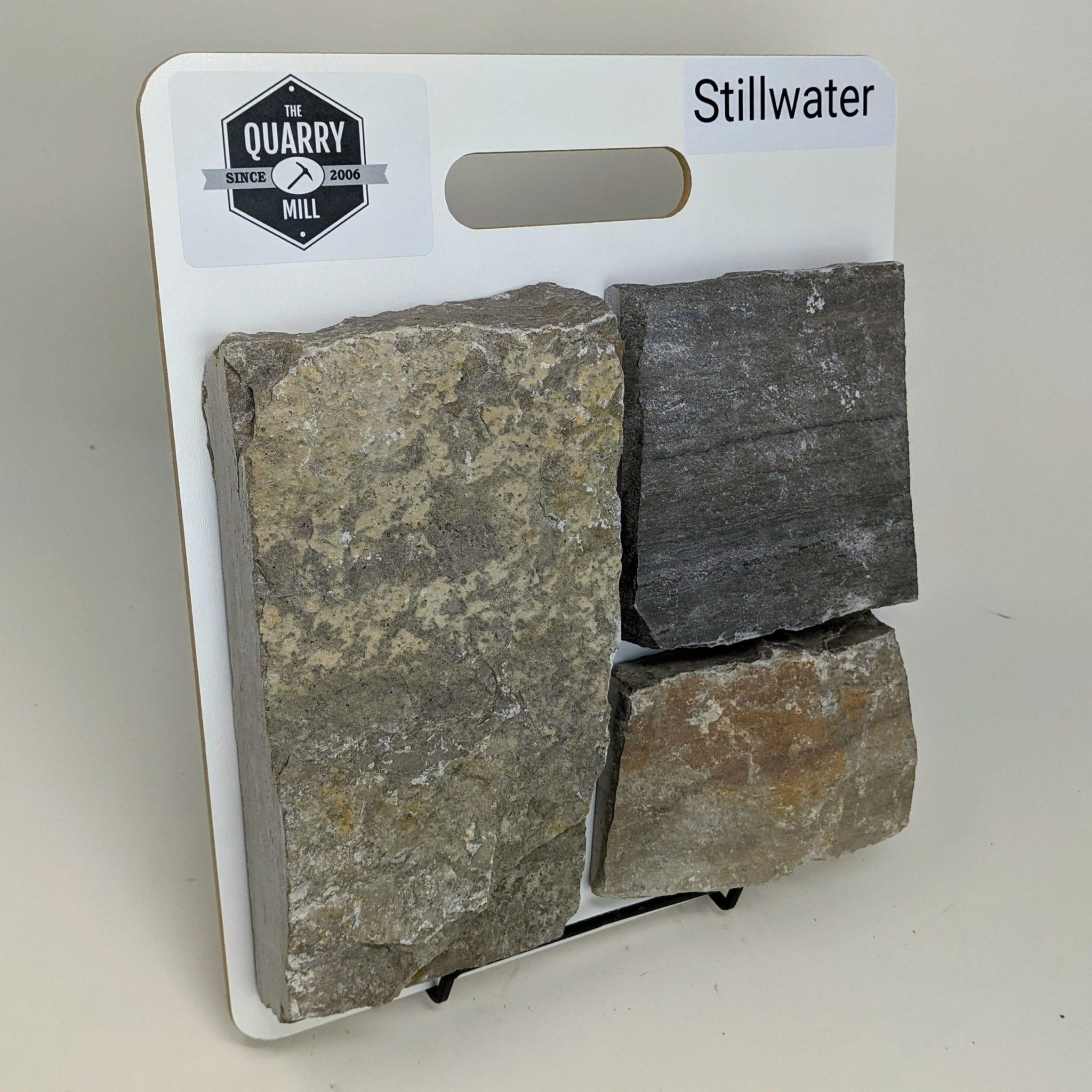 Stillwater Natural Stone Veneer Sample Board