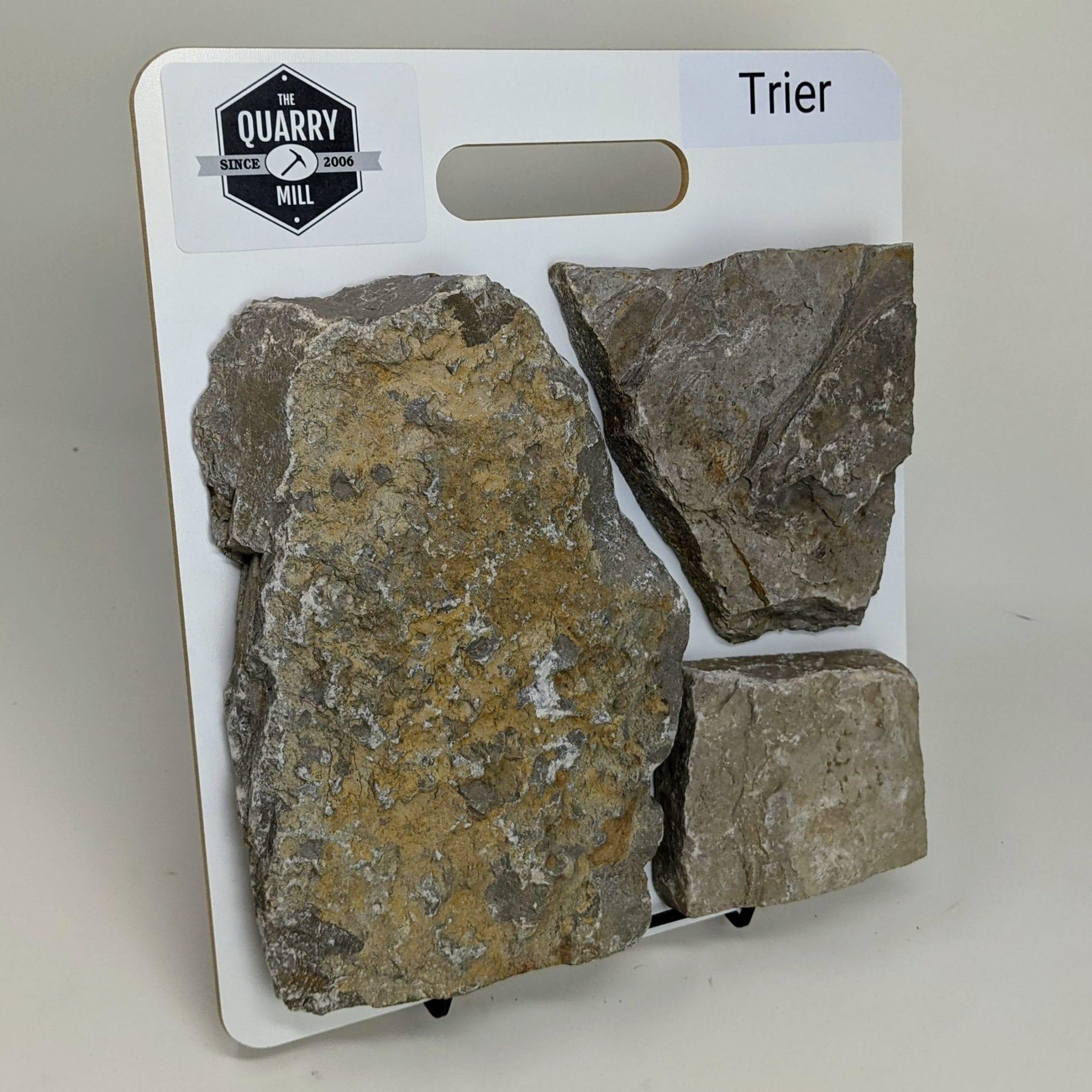 Trier Real Stone Veneer Sample Board