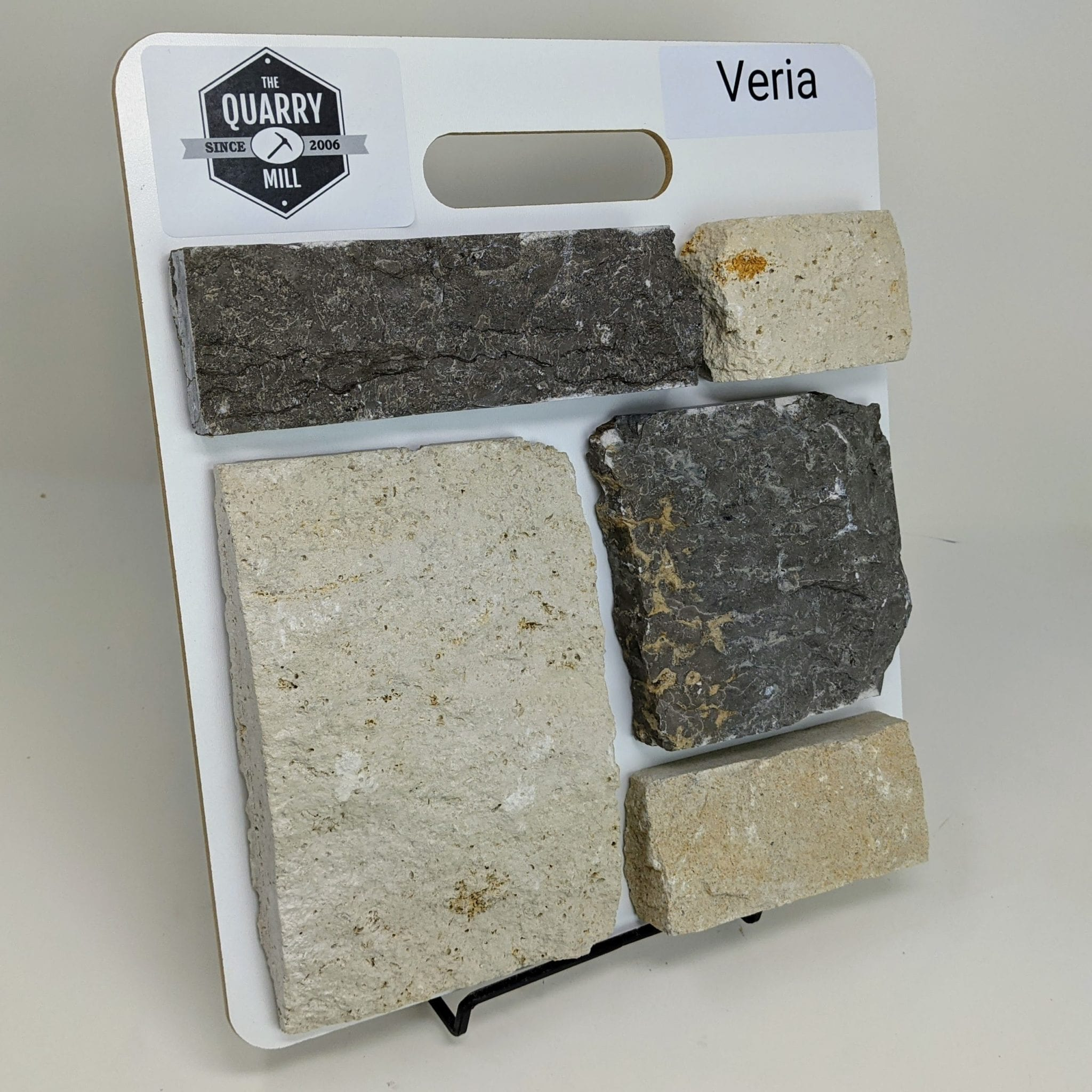 Veria Natural Stone Veneer Sample Board
