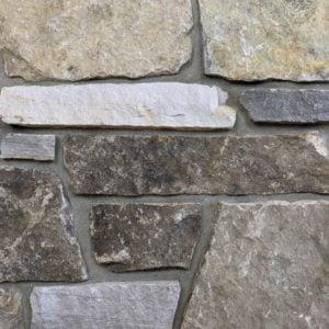 Annapurna Natural Thin Stone Veneer Mock-Up