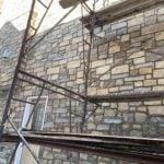 Annapurna Real Thin Stone Veneer Masonry Installation
